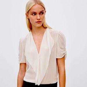 Aritzia Babaton Silk Blouse